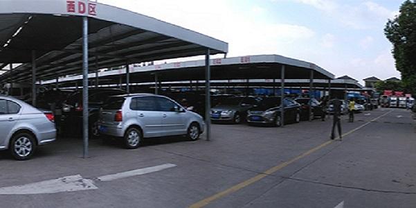 上海中古車市場(二手車市場)へ・上海で中古車を購入